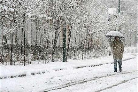 آسمان تهران چهار روز آینده برفی است