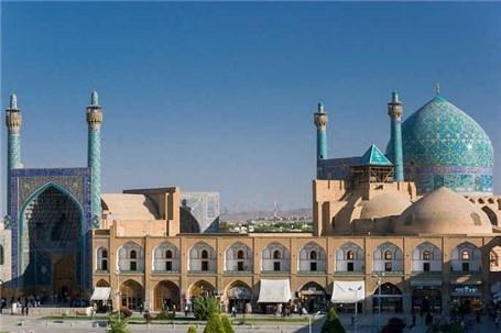 مرحله دوم نورپردازی میدان امام اصفهان آغاز شد