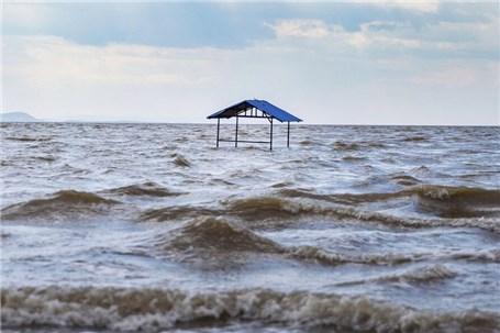حجم آب دریاچه ارومیه از مرز ۴ میلیارد متر مکعب گذشت