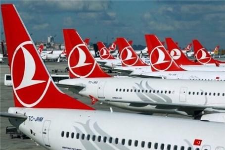 آغاز مجدد پروازهای ترکیش ایر به ایران از ۱۰ شهریور ماه