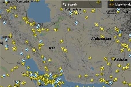 پرواز روزانه ۴۲۷ ایرلاین خارجی به آسمان ایران