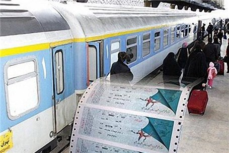 پیش فروش بلیت قطارهای نوروزی ۱۰ درصد رشد کرد