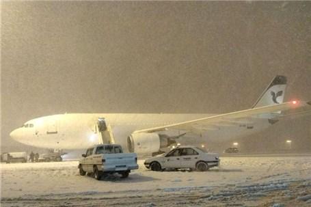شرایط نامناسب جویِ فرودگاه مقصد دلیل لغو یا تأخیر برخی پروازهای مهرآباد