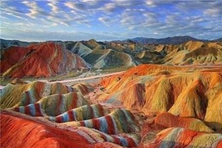 ثبت کوههای رنگی زنجان و ماهنشان در فهرست میراث ملی