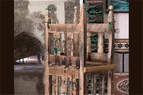 ثبت منبر چوبی دوره ایلخانی در فهرست آثار ملی