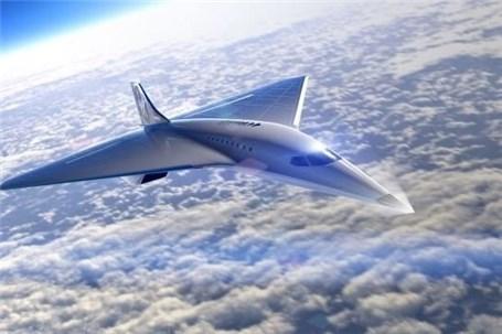 """ویرجین گلکتیک از طرح هواپیمای """"ماخ ۳"""" رونمایی کرد"""