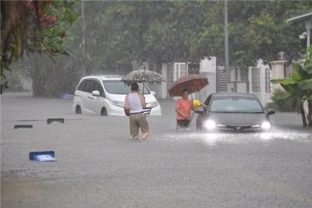 بارندگی و سیلاب شدید در سنگاپور