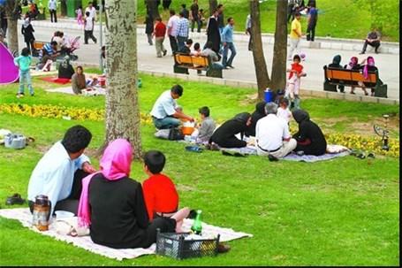 ممنوعیت دورهمی و تجمع در بوستانها و فضای سبز در روز طبیعت